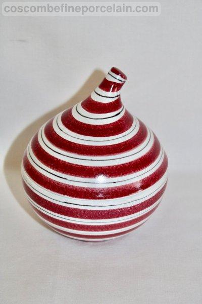 Faience Lidded Bowl