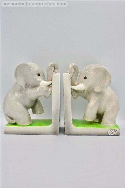 Goldscheider Elephant Bookends