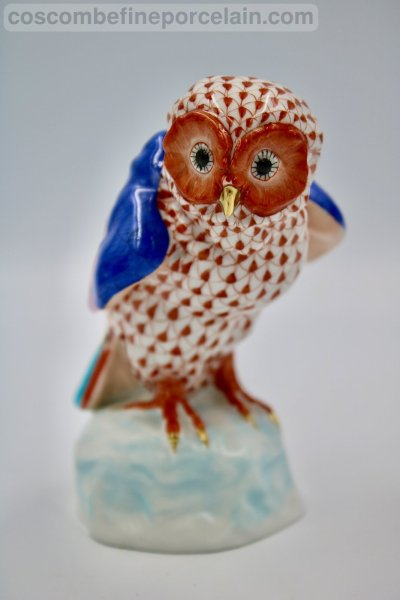 Herend red owl