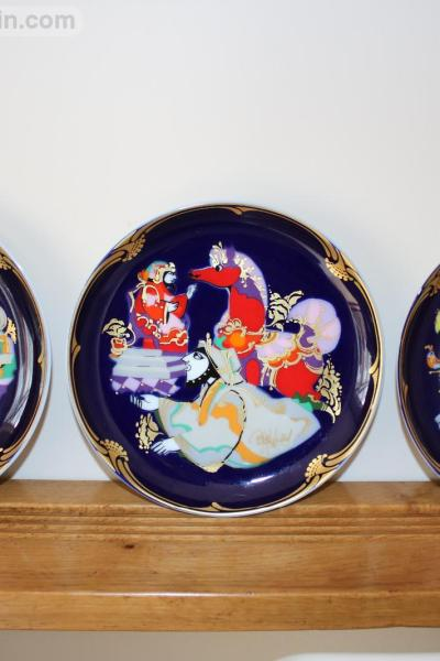 Rosenthal Plates -1001 Arabian Nights - The Magic Horse