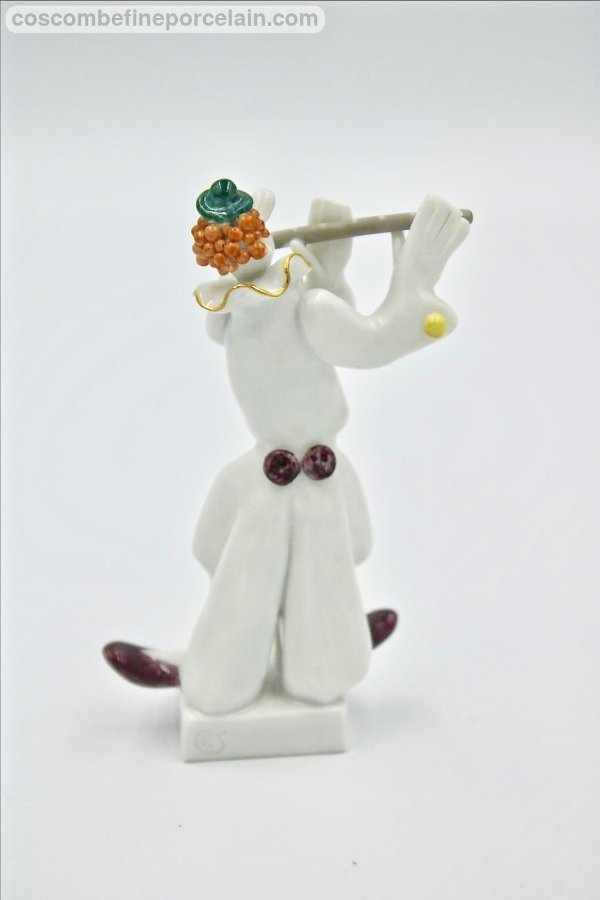 Meissen Flute player