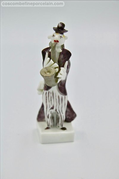 Meissen Saxophone player