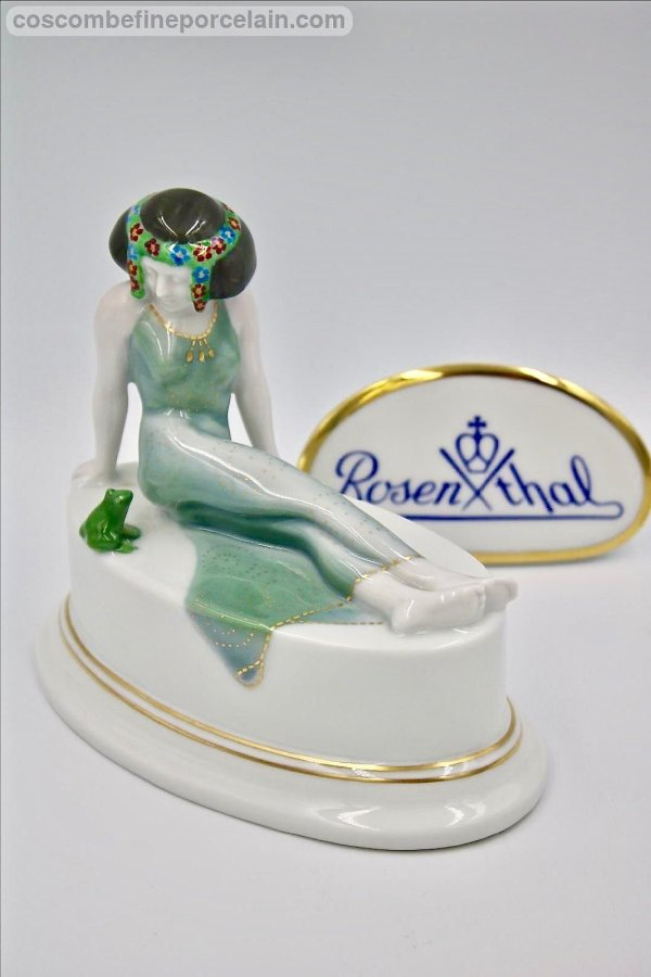 Rosenthal Princess and the frog by Leo Rauth