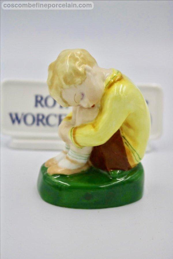 Royal Worcester Sleepy boy