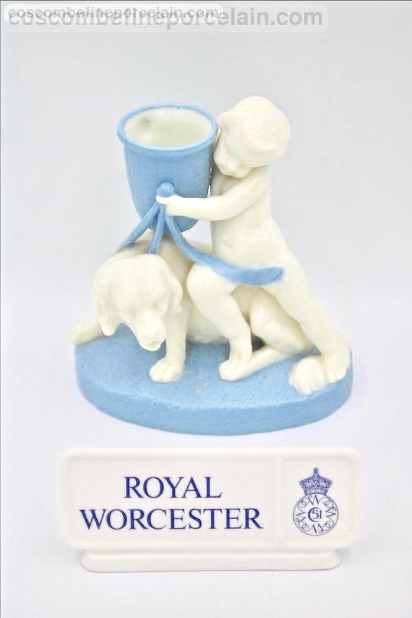 Royal Worcester cherub