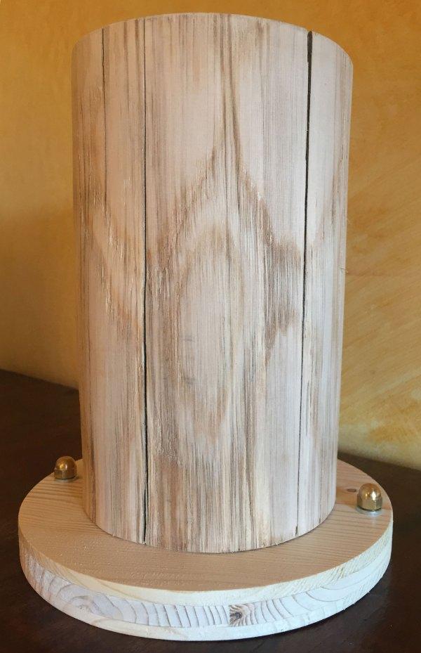 Gradino con base semplice tonda – levigato