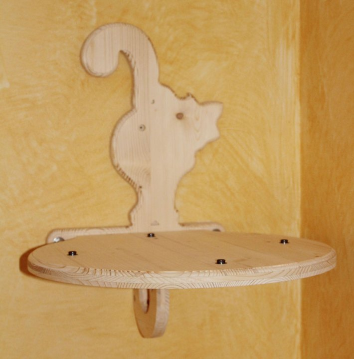 Serie Volare - Cuccetta da parete - elemento in legno