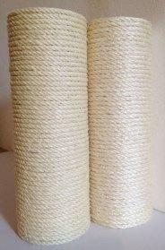 Pali in massello di castagno con corda di qualità superiore 100% italiana