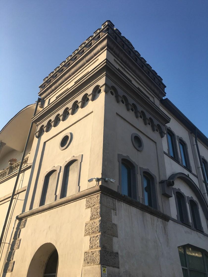 Parte ristrutturata dell'ex cementificio Italcementi Alzano Lombardo
