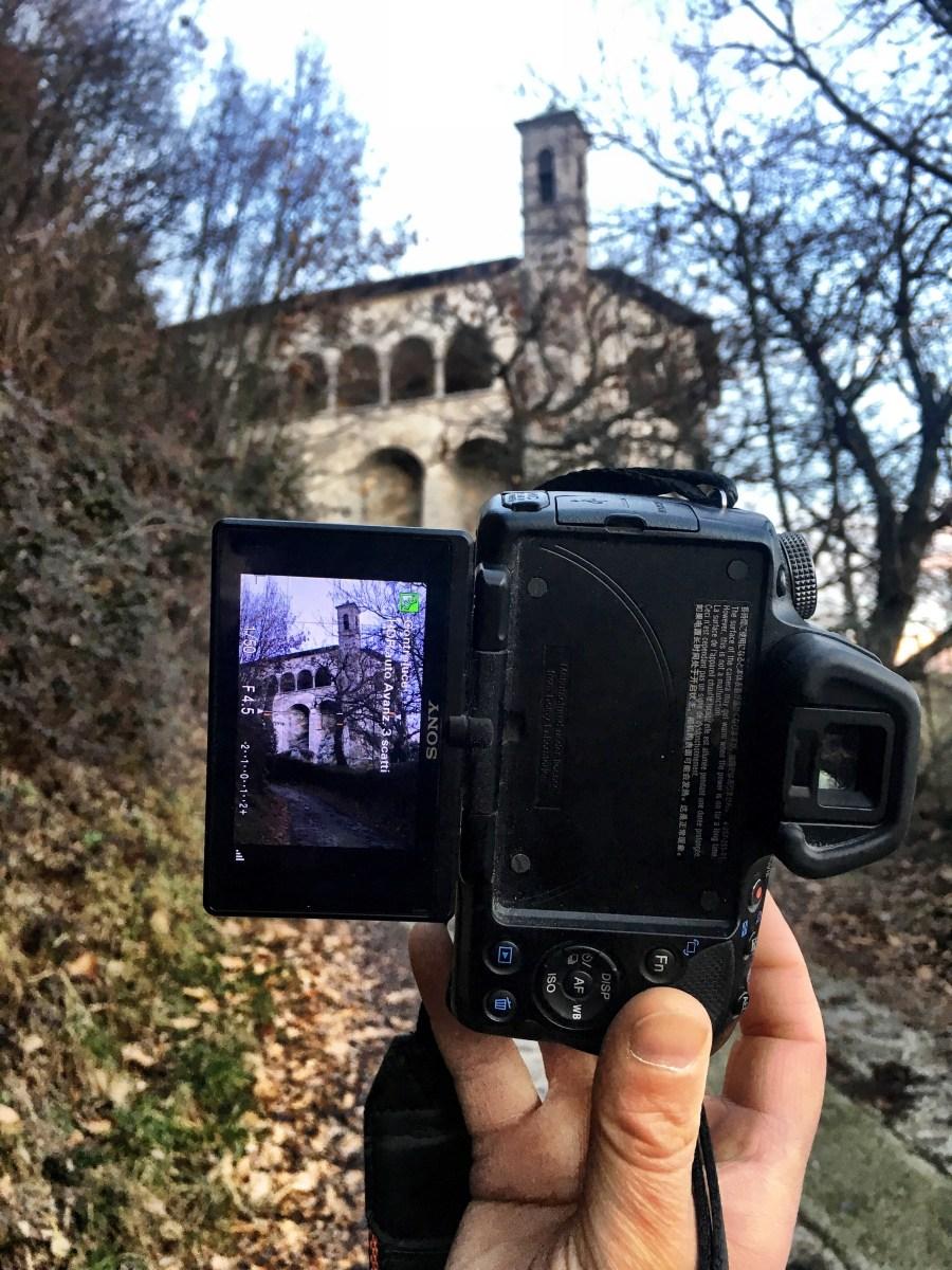 Ammirare la Val Seriana dal Santuario di San Patrizio di Colzate