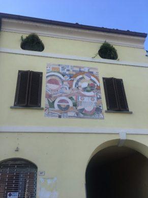 Murales a Calcio in provincia di Bergamo