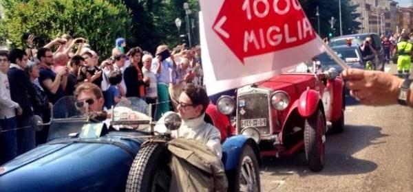 Le auto della Mille Miglia