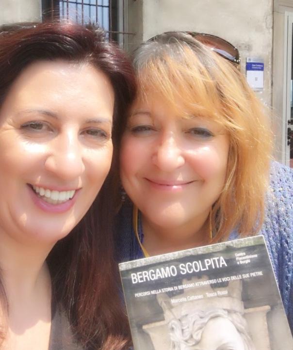 Due chiacchiere con Tosca Rossi, autrice di Bergamo Scolpita
