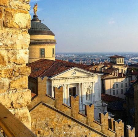 Evento Bergamo dall'alto