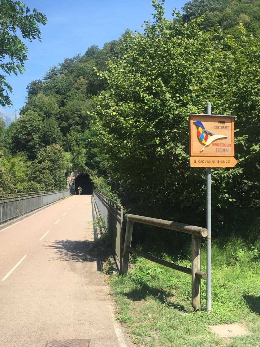 pista ciclabile della Val Brembana