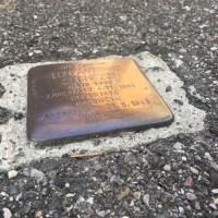 A Premolo, la prima pietra d'inciampo bergamasca che ti obbliga a ricordare