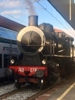 locomotiva del TrenoBlu