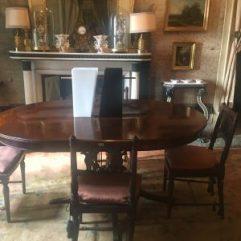 Sala da pranzo a Palazzo Moroni