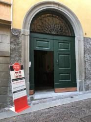 Ingresso di Palazzo Polli Stoppani