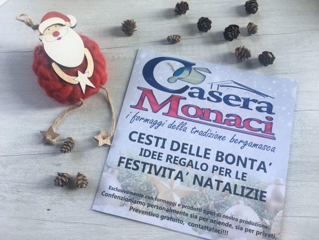 Volantino cesti Natale Casera Monaci