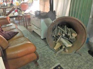 Gromo 17 emporio con stufa e campana