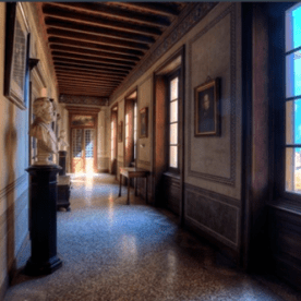 10 Palazzo Martinoni - corridoio piano nobile