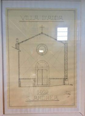 2 quadro appeso nella Biblioteca di Sant'Andrea in Catello