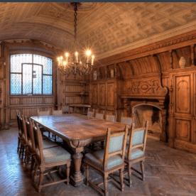 9 Palazzo Martinoni - sala da pranzo piano nobile