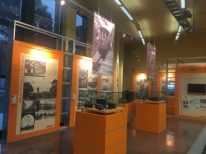 Sala principale del Museo del Trasporto pubblico bergamasco