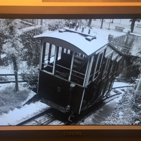 Funicolare di Bergamo in una foto d'epoca