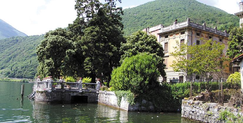 Palazzo Martinoni, a Riva di Solto, una dimora storica tutta da scoprire (ma solo on line)