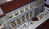 Costruzione palazzo Quadrilatero