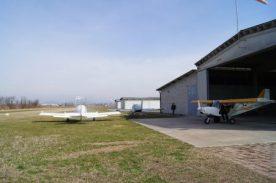 Hangar e aereo a Cizzago