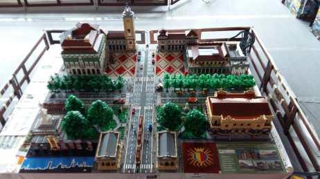 Il Centro Piacentiniano di Lego dall'Alto
