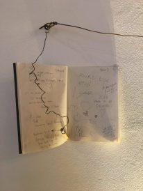 Libro degli ospiti al Gombit Hotel