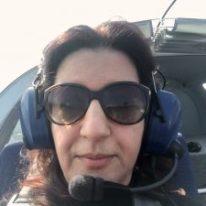 Raffi Garofalo durante il Volo di Ambientamento di SportAction