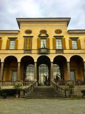 Scalone Villa Gromo
