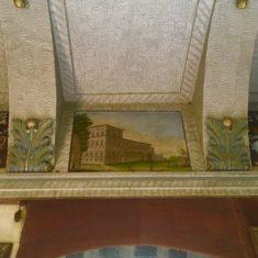 Affresco con Palazzo del Quirinale di Roma