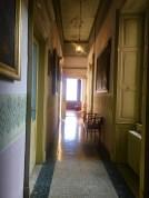 Corridoio del primo piano di Palazzo Bazzini