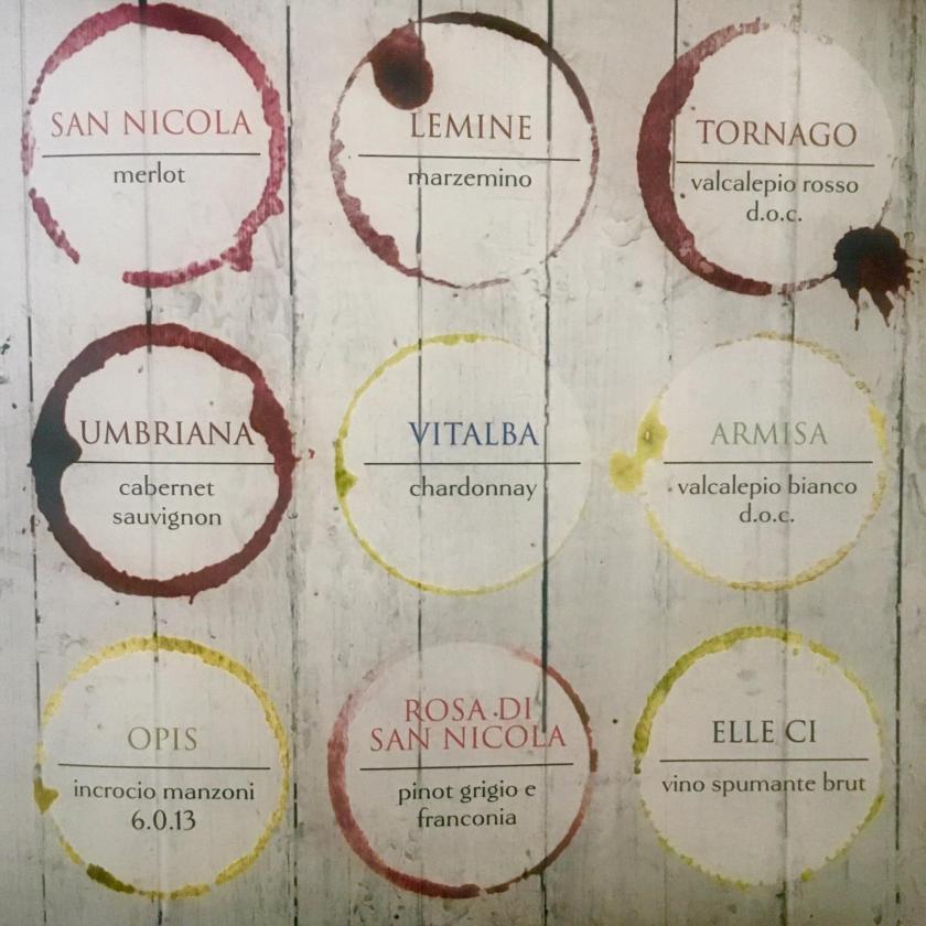 Selezione vini Lurani Cernuschi
