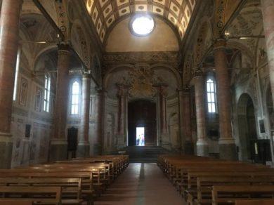 Navata centrale della Basilica di Santa Maria in Valvendra