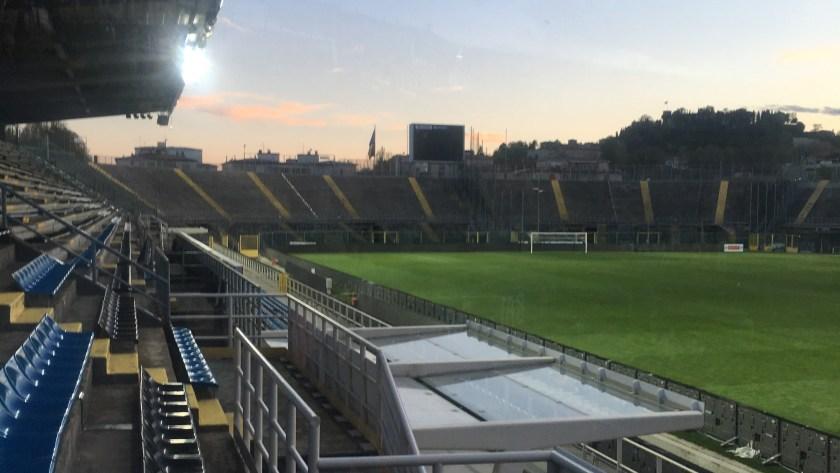 Città Alta vista dalla Tribuna dello Stadio