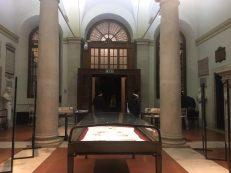 Atrio scamozziano e la mostra dedicata al restauro