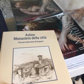 Nella libreria del monastero di astino