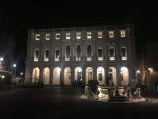 Biblioteca Angelo Mai di sera