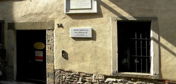 casa natale di Gaetano Donizetti ingresso e targa