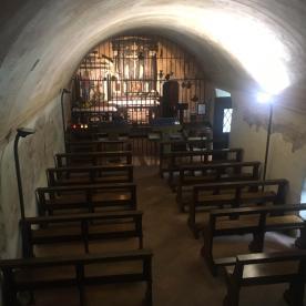 la chiesa antica al Santuario del Perello