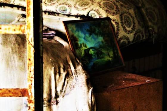 oggetti abbandonati a Sciesopoli