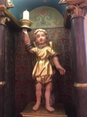 Statua lignea Santuario del Perello