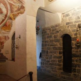 affreschi al Santuario del Perello
